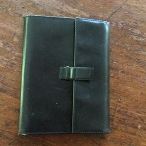Pineider leather wallet made in Italy . Vintage